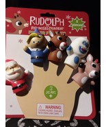 Rudolph the Red Nosed Reindeer Finger Puppets - $14.85