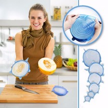 Suction Lids Silicone Universal Pan Spill Stopper Cover Pot Lid Cooking ... - $12.99