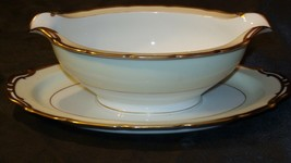 Noritake China Japan Goldora 882 Gravy Bowl AA20-2137 Antique