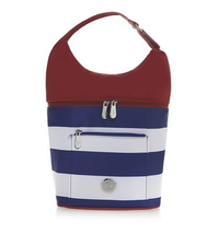 JOY Deluxe Insulated Lunch Cooler Tote Bag, Red - $19.77 CAD