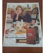 Vintage 1971 L&M Cigarette Life Magazine Ad - $8.95