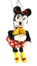 1950s Rare Vintage Walt Disney Minnie Mouse Marionette Puppet Unitol  - $121.46