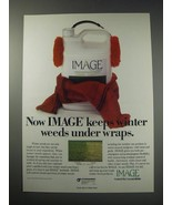 1991 Cyanamid Image Ad - Now image keeps winter weeds under wraps. - $14.99