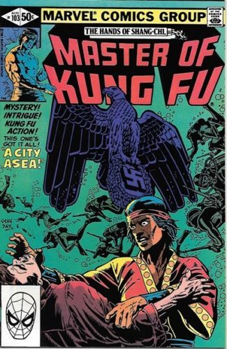 Master of Kung Fu Comic Book #103 Marvel Comics Group 1981 VERY FINE