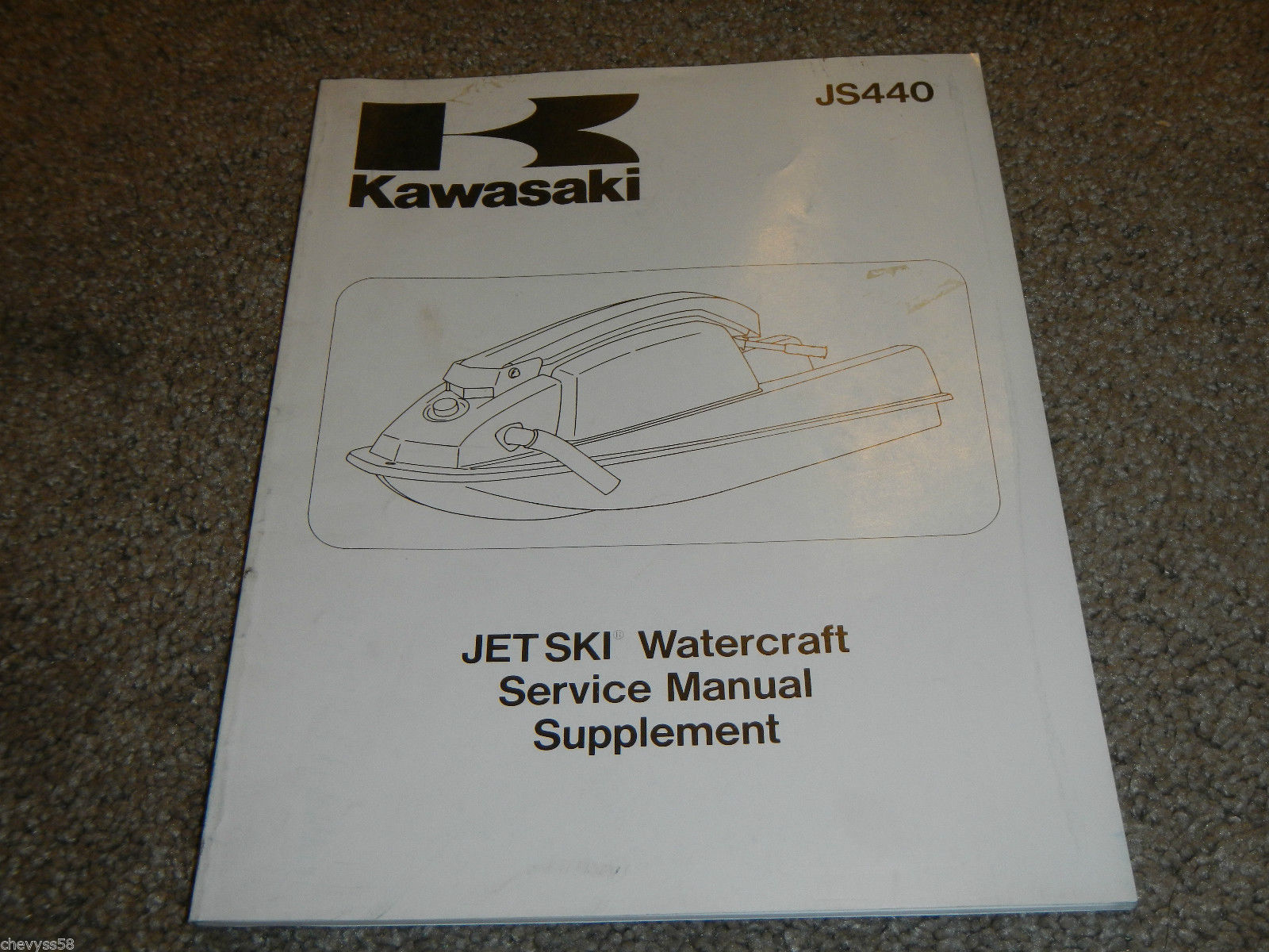 Kawasaki Js440 Wiring Diagram Electrical Diagrams 1100 Stx 1984 1992 Js 440 Jet Ski Shop And 50 Similar Items Upgrades