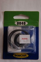 Brasscraft sl0040  7 assorted o rings to fit Bradley, Kohler, faucets  inv 36 - $4.99