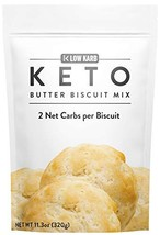 Low Karb - Keto Biscuits Mix - Low Carb Food - Easy to Bake - Breakfast - Only 2
