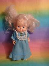 1985 Citytoy Blonde Vinyl Plastic Body Blue Eyes & Dress - as is - $7.87