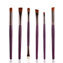 Type ZK MAANGE 6Pcs Makeup Brushes Set Eye Brushes Set Eyeliner Eye A - $5.00