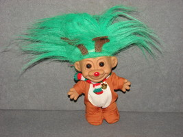 "Russ Troll Doll: 5"" Christmas Reindeer - $11.00"