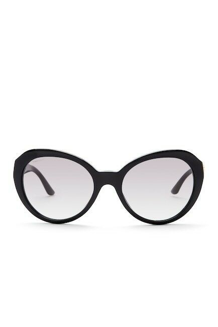 NEW AUTHENTIC VERSACE Cat Eye  Sunglasses Black/Gold 4306-Q GB1/11
