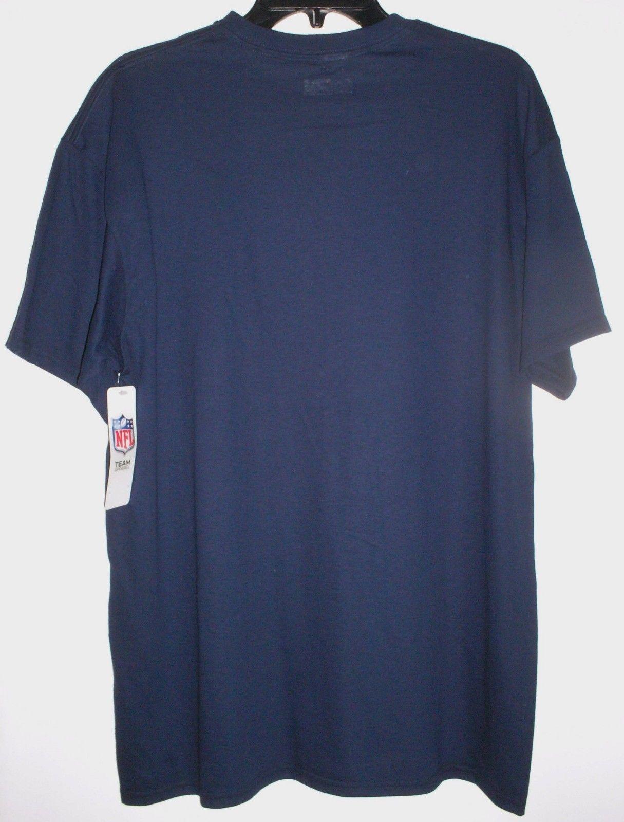 Denver Broncos NFL Football Short Sleeve T-Shirt Navy Mens Medium image 3