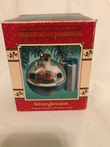 "ENESCO ""ALPINE VILLAGE "" WINTER WONDERS MOVEMENT ORNAMENT BATTERY OPP Mo... - $33.00"