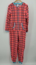 Secret Treasures One Piece Pajamas Women's Size Large Plaid Long Sleeve ... - $12.37