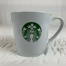 Starbucks Mug Ceramic Coffee Cup 17.8 oz 2014 White Siren Mermaid Logo EUC - $9.89