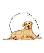 Primitives by Kathy Yellow Lab Hanging Ornament - $9.95