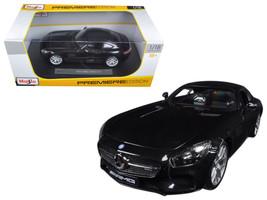 Mercedes AMG GT Metallic Black 1/18 Diecast Model Car by Maisto - $61.59
