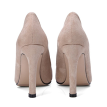 Shallow IKAI Autumn Women Wedding Toe Floc Pumps LALA Spring Pointed Sexy Shoes dIvq5dwB