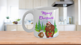 Father And Son Merry Christmas Bear And Cub Coffee Mug Gift - $14.84+