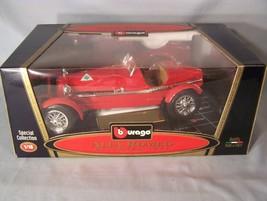 Alfa Romeo 8C Monza 1931 1:18 scale diecast Burago Bburago Special Collection - $36.31