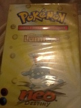 Pokemon Neo Destiny Set French Lumiere (Light) Theme Deck Factory Sealed... - $49.95