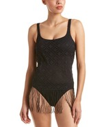 Profile by Gottex Women's Charleston Scoop Neck One Piece Swimsuit, Blac... - $89.99