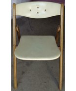 Vintage MID-CENTURY Nordquist Coronet Wonderfold Folding Chair - Style 2... - $247.49