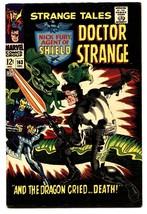 STRANGE TALES #163 comic book 1967-NICK FURY-DR STRANGE-STERANKO - $68.29