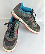 Nike Air Prestige Size 8.5 Animal Print  Tennis Shoes Blue Black Pink Sw... - $29.70