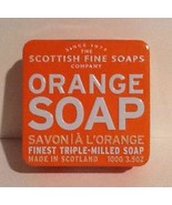 The Scottish Fine Soaps Co Triple Milled Orange Soap 3.5Ozs Made In Scot... - $16.15