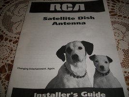 RCA Satellite Dish Antenna Installer's Guide - $15.00