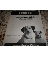 RCA Satellite Dish Antenna Installer's Guide - $15.00