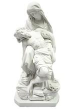 "25"" La Pieta Jesus Mary Michelangelo Catholic Religious Statue Vittoria ... - $299.99"