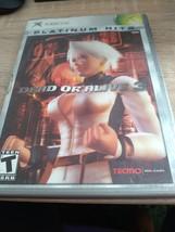MicroSoft XBox Dead Or Alive 3 image 1