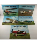 Vintage 5 issues SPORT AVIATION  Airplanes Monthly Magazine 1969 - $16.82