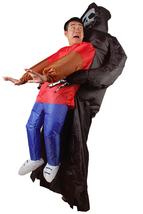 Inflatable Halloween Scary Skeleton Cosplay Costume - $47.62