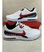 Nike Air Max LTD 3 (Mens Size 12) Shoes BV1171 100 White University Red ... - $153.42