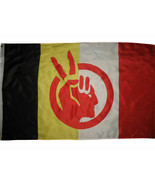 Native American Rights Protest American Indian Movement Flag 3x5 ft Banner - $13.85