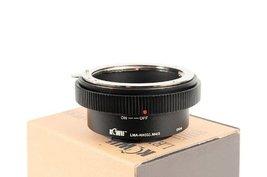 Kiwi Camera Lens Mount Adapter - for Nikon G to Micro 4/3 - $30.68
