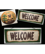Welcome Signs, Moose Decor, Unique Welcome Sign, Mancave Decor - $45.99