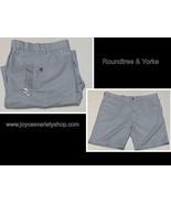 Roundtree & Yorke Men's Field & Stream Shorts SZ XL 40-42 Light Baby Blue  - $11.99