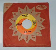 45 RPM Rockabilly Jack Scott All I See Is Azul, Meo Myo Capital Record 4... - $15.62