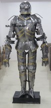 Gothic Full Suit Of Armour Wearable German Style Halloween Armor Costume  - $1,199.00