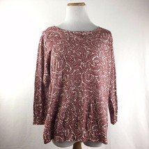 LOFT Ann Taylor Button Back Red Maroon Longsleeve Cardigan Sweater Size ... - $23.30