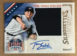 2015 Panini Stars & Stripes Thomas Eshelman #92 Auto Rookie Baseball Card 56/99 - $9.99