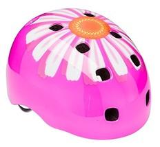 Schwinn Burst Child Helmet Pink Flowers - $32.60