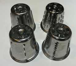 Set of 4 KITCHENAID SLICER / SHREDDER CONE ATTACHMENTS  Stand Mixer Cone... - $16.00