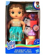 Hasbro Baby Alive Cupcake Birthday Baby Get Ready Celebrate Doll Age 3 & Up - $33.99