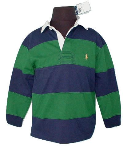 c3dd8712 Rugbynavygreen6 burned. Rugbynavygreen6 burned. NEW! Polo Ralph Lauren Boys  Striped Rugby Shirt! 4 *Green and Navy Stripe