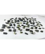 Natural 92 Grams Blue Cap 92 PCs Astaknala Tourmaline crystals lot @ Pak... - $133.65